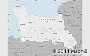 Gray Map of Basse-Normandie