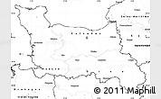 Blank Simple Map of Basse-Normandie