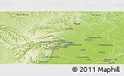 Physical Panoramic Map of Dijon