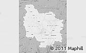 Gray Map of Bourgogne