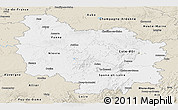 Classic Style Panoramic Map of Bourgogne