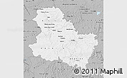 Gray Map of Yonne