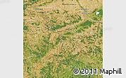 Satellite Map of Yonne