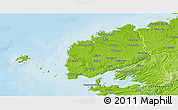 Physical 3D Map of Brest