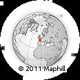 Outline Map of Morbihan