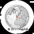 Outline Map of Pontivy