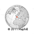 Outline Map of Montargis