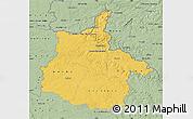 Savanna Style Map of Ardennes
