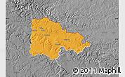 Political Map of Sedan, desaturated