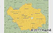 Savanna Style Map of Aube