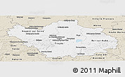 Classic Style Panoramic Map of Aube
