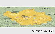 Savanna Style Panoramic Map of Aube