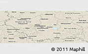 Shaded Relief Panoramic Map of Aube