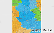 Political Shades Map of Haute-Marne