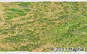 Satellite Panoramic Map of Haute-Marne
