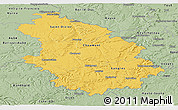 Savanna Style Panoramic Map of Haute-Marne