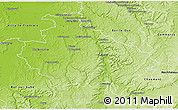 Physical 3D Map of Saint-Dizier