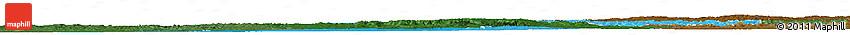 Political Shades Horizon Map of Champagne-Ardenne, darken