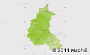 Physical Map of Champagne-Ardenne, cropped outside