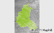 Physical Map of Champagne-Ardenne, desaturated
