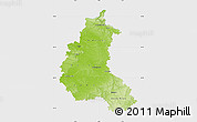 Physical Map of Champagne-Ardenne, single color outside