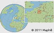 Savanna Style Location Map of Reims