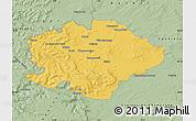 Savanna Style Map of Reims