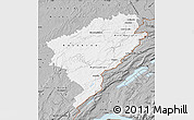 Gray Map of Doubs