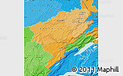 Political Shades Map of Doubs