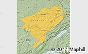 Savanna Style Map of Doubs