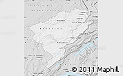 Silver Style Map of Doubs