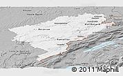 Gray Panoramic Map of Doubs