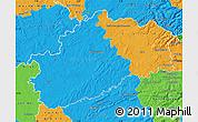 Political Map of Haute-Saône