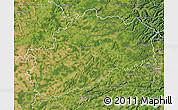 Satellite Map of Haute-Saône