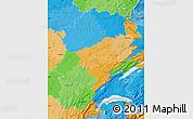 Political Map of Franche-Comté