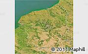 Satellite 3D Map of Haute-Normandie