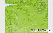 Physical 3D Map of Bernay