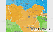 Political Shades Map of Eure