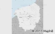 Gray Map of Haute-Normandie