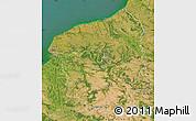 Satellite Map of Haute-Normandie