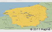 Savanna Style Panoramic Map of Haute-Normandie