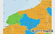 Political Map of Seine-Maritime