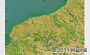 Satellite Map of Seine-Maritime