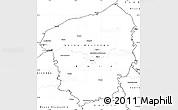 Blank Simple Map of Haute-Normandie