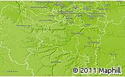 Physical 3D Map of Palaiseau