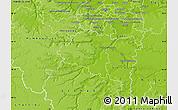 Physical Map of Palaiseau