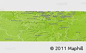 Physical Panoramic Map of Palaiseau