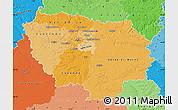 Political Shades Map of Île-de-France