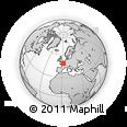 Blank Simple Map Of Paris - Paris map outline
