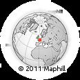 Outline Map of Paris-1ER